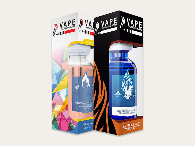 Custom E Juice Flavor Boxes | Wholesale Printed E Juice