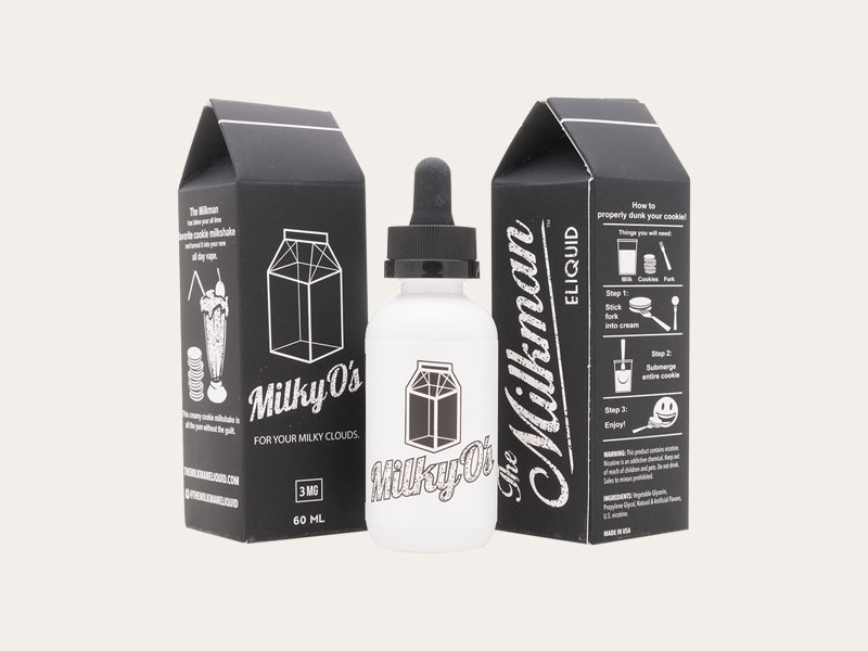 Custom E Juice Flavor Boxes | Wholesale Printed E Juice